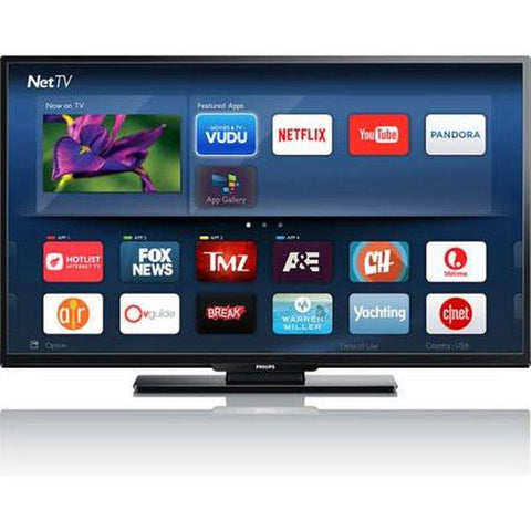 PHILIPS 55PFL5601/F7 55 Inch 4K UHD 120PMR  LED SMART TV