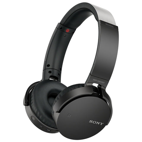 Sony Over-Ear Sound Isolating Wireless Headphones with Mic (MDRXB650BT/B) - Black