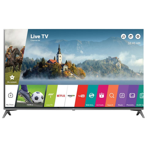 "LG 49"" 4K UHD HDR LED webOS 3.5 Smart TV (49UJ6500)"