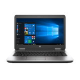 "HP ProBook 640 G2 14"" Intel Core I5-6300u 2.4 GHz 8G 500 GB SATA w/ Windows 10"