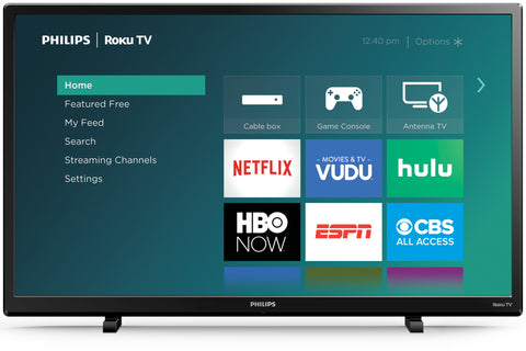 "Philips 32"" Class HD (720P) Smart Roku LED TV (32PFL4664/F7)"
