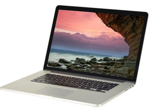 Apple Macbook Pro 15 inch Intel Core i7-3720QM 2.6Ghz 8GB 256GB SSD Mac Os EL CAPITAN ( A1286 MD104LL/A )