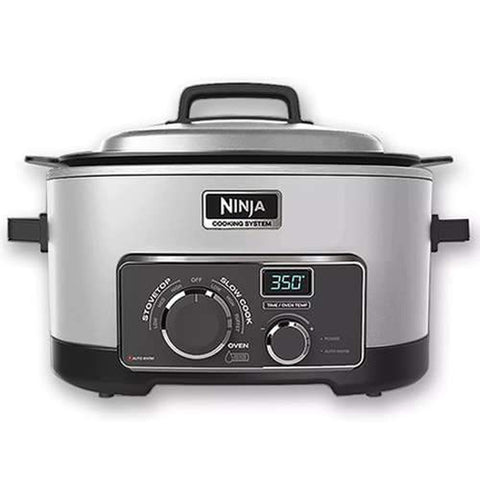 NINJA MULTI COOKER 3 IN 1 COOKING SYSTEM PLANTIUM (MC702Q2PL)