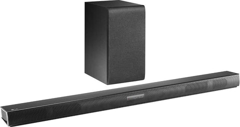 LG - 2.1-Channel 300W Soundbar System with Wireless Subwoofer (SH4)
