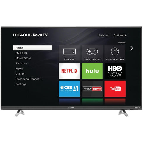 "Hitachi 49"" Class 1080P LED Roku Smart TV (49R50)"