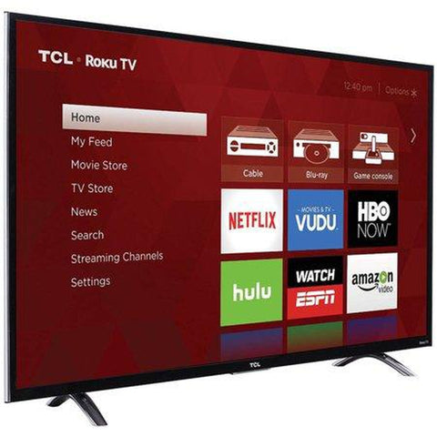 "TCL 50"" Class 4K (2160P) Roku Smart LED TV (50UP120)"