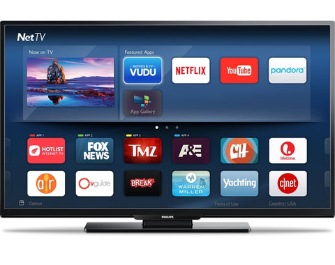 PHILIPS 55 Inch  4K (2160p) Smart LED TV (55PFL5402/F7)