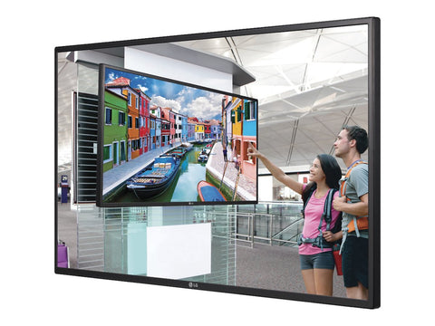 "LG - 55"" Class Signage LED display - digital signage - 1080p (Full HD) 1920 x 1080 - direct-lit LED - metallic titan ( 55LS35A-5B )"