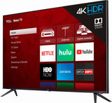 "TCL 55"" Class 4K Ultra HD (2160p) Dolby Vision HDR Roku Smart LED TV (55R615)"