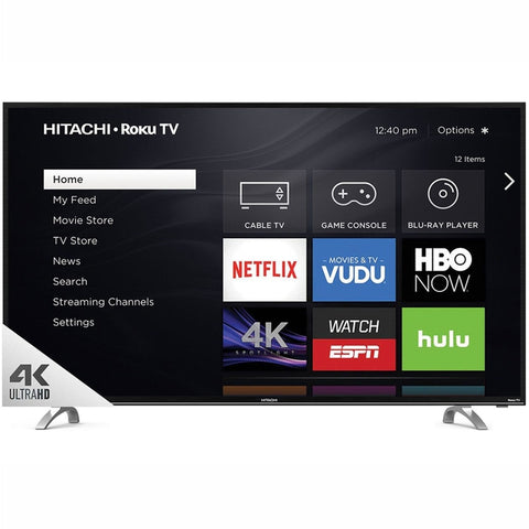 "Hitachi 55"" Class 4K (2160P) Roku Smart LED TV (55R82)"
