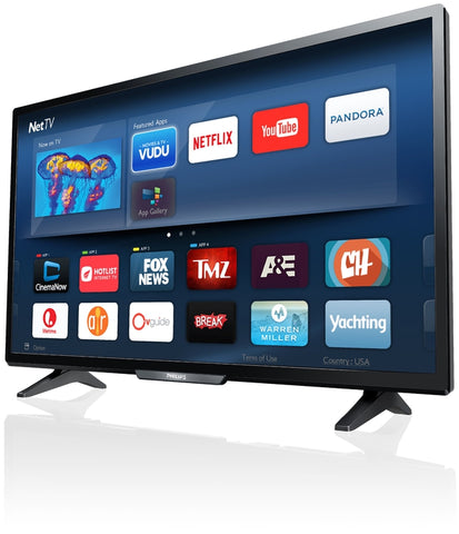 "Philips 40"" 1080p SMART LED TV (40PFL4901/F7)"