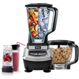 Ninja Supra Kitchen Blender System with Food Processor and Single Serve Cups (BL780CO)