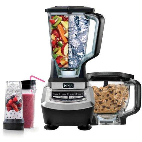 Ninja Supra Kitchen Blender System with Food Processor and Single Serve Cups (BL780)