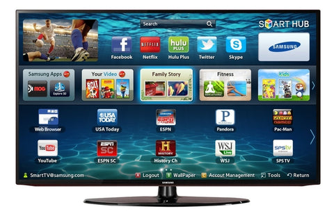 SAMSUNG UN32EH5300F 32 Inch 1080P 120 CMR  LED SMART TV