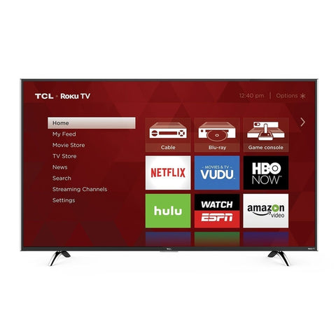 "TCL 55"" 55UP120 4K UHD 120Hz LED ROKU-SMART TV"