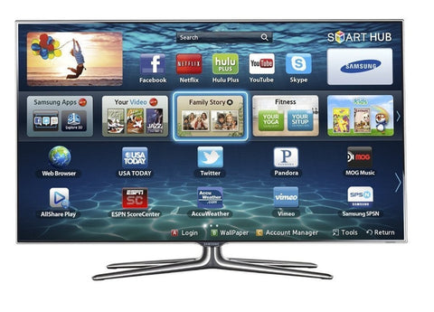SAMSUNG UN55ES7150F 55 Inch 1080P 720 CMR ACTIVE 3D LED SMART TV