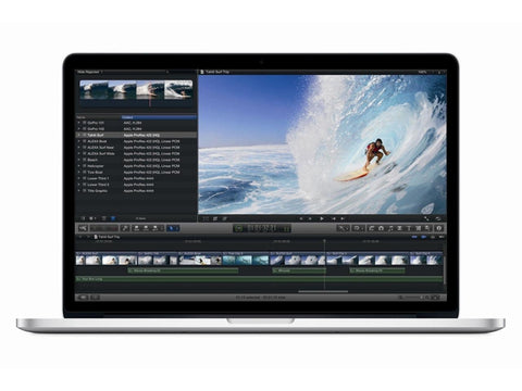 Apple Macbook Pro 15 inch Intel Core i7-4870HQ 2.5Ghz 16GB 128GB SSD Mac Os EL CAPITAN (  A1398 / MGXC2LL/A  )