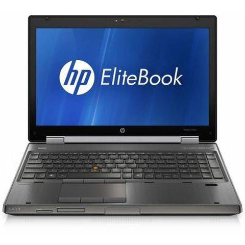 "HP COMPAQ ELITEBOOK 8560W 15"" INTEL CORE I7-2620M 2.7 Ghz 16 GB 256 GB SSD w/ DVD-RW Drive"