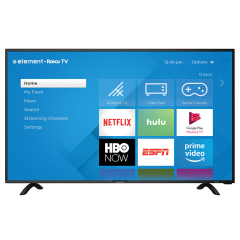 "ELEMENT 40"" Class 4K UHD (2160P) ROKU Smart LED TV ( E4SC4018RKU )"
