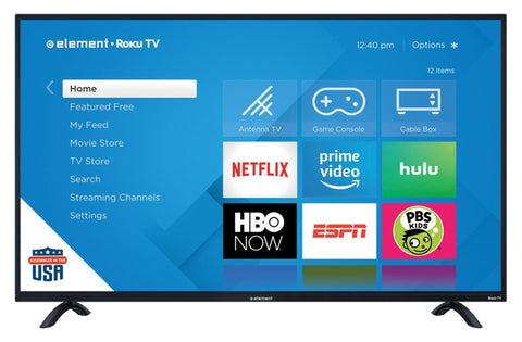 "ELEMENT 50"" Class 4K UHD Roku Smart LED TV (E4SC5018RKU)"