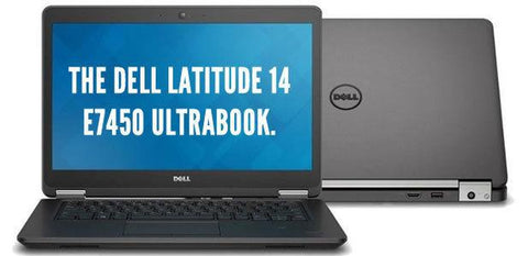 "DELL LATITUDE E7450 14"" INTEL CORE I5-5300U 2.3 Ghz 4 GB 128 GB SSD"