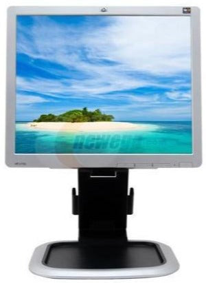 "HP Carbonite/Silver 17"" 5ms LCD Monitor 300 cd/m2 800:1 w/ Built in USB Hub (L1750)"