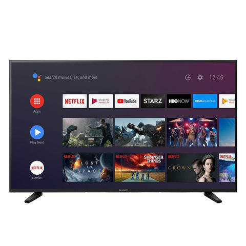 "Sharp 55"" Class 4K Ultra HD (2160P) Android Smart LED TV with Dolby Vision HDR (LC-55Q7530U)"