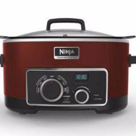 NINJA 4 IN 1 SLOW COOKER 6 QT- Dark Red (MC900QCN)