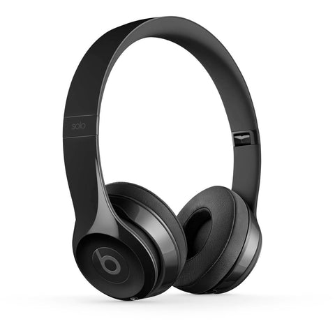 Beats by Dr. Dre Solo3 On-Ear Sound Isolating Bluetooth Headphones - Gloss Black