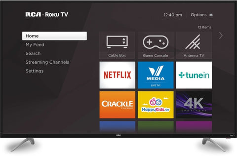 "RCA 65"" Class 4K Ultra HD (2160P) Roku Smart LED TV (RTRU6527-US)"