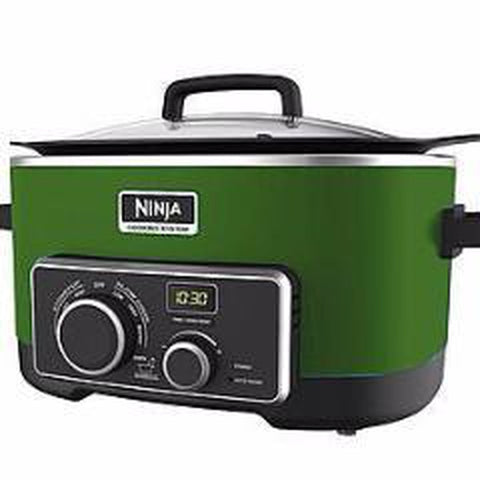 NINJA 4 IN 1 SLOW COOKER 6 QT- GREEN (MC900QGN)