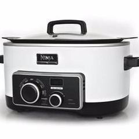 NINJA 4 IN 1 SLOW COOKER 6 QT- White Stainless Steel  (MC900QSS)