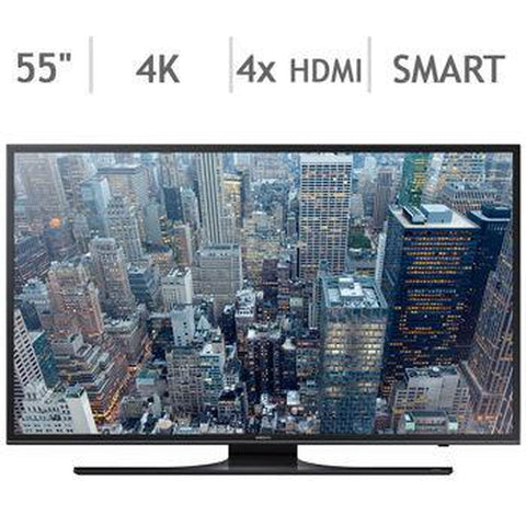 SAMSUNG UN55JU6500F 55 Inch 4K 120 CMR LED SMART TV