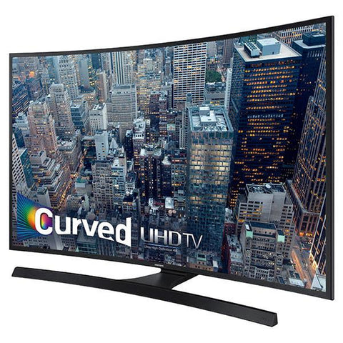 SAMSUNG UN65JU670DF 65 Inch 4K 120 CMR SMART LED CURVED TV