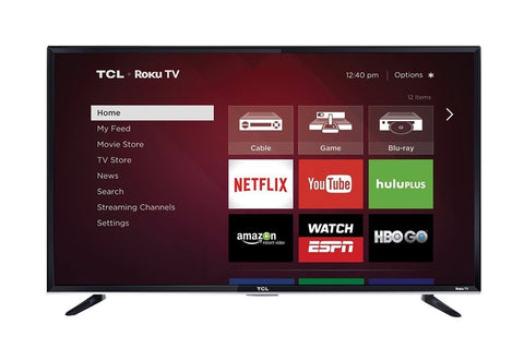 TCL 55FS3750 55 Inch 1080P 120 HZ LED ROKU SMART TV