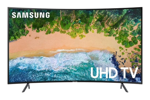 "SAMSUNG 65"" Class 4K (2160P) Ultra HD Smart LED HDR CURVED TV ( UN65NU7300 )"