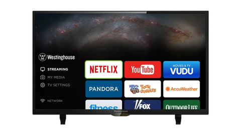 Westinghouse 40″ Class FHD (1080P) Smart LED HDTV (WD40FB2530)