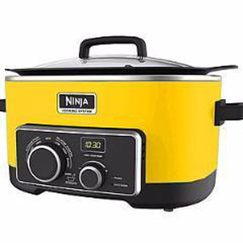 Ninja 4 IN 1 SLOW COOKER 6 QT - Yellow (MC900QY)