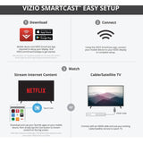 VIZIO E43U-D2 43 Inch LED 4K 120 HZ SMART UHDTV