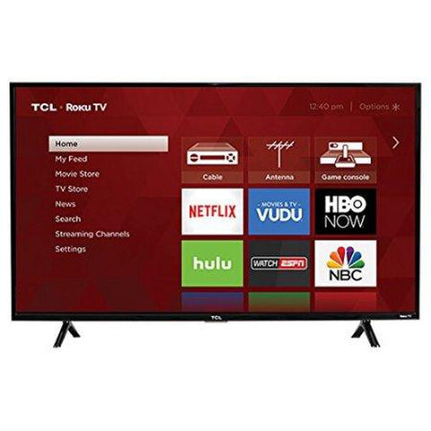 "TCL 43"" Class 1080P FHD LED Roku Smart TV 3 Series  ( 43S325 )"
