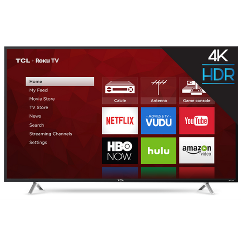 TCL 55 Inch Class 4K (2160P) Roku Smart LED TV (55S405)