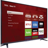 "TCL 55"" Class 4K (2160P) Roku Smart LED TV (55US57)"