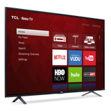 "TCL 65"" Class 4K (2160P) HDR Roku Smart LED TV (65S401)"