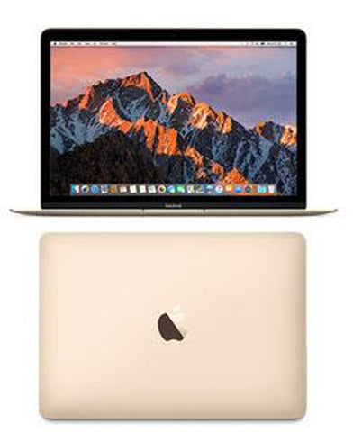 APPLE Macbook 12 inch Intel Core M-37Y32 1.2Ghz 8GB 256GB SSD Mac Os El Capitan (MNYF2LL/A)) - Gold