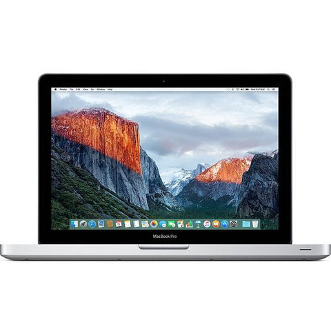 Apple Macbook Pro 13 inch Intel Core I7-2620M 2.7Ghz 8GB 500GB SATA w/DVD-RW Drive Mac Os EL CAPITAN (A1278 / MC724LL )