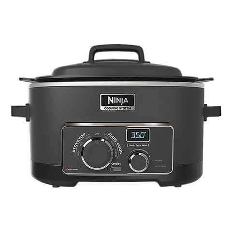 NINJA MULTI COOKER 3 IN 1 COOKING SYSTEM (MC702Q2BK)