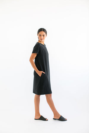 Pocket Cocoon Dress
