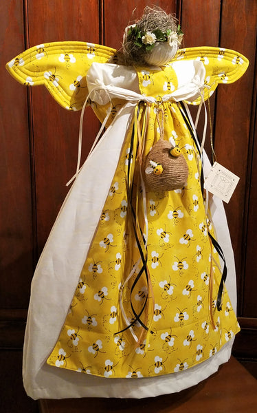 Changeable Bee Hive Angel (21 Inch) - Country Craftworks
