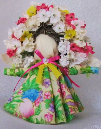 Floral Mini Angels - Country Craftworks