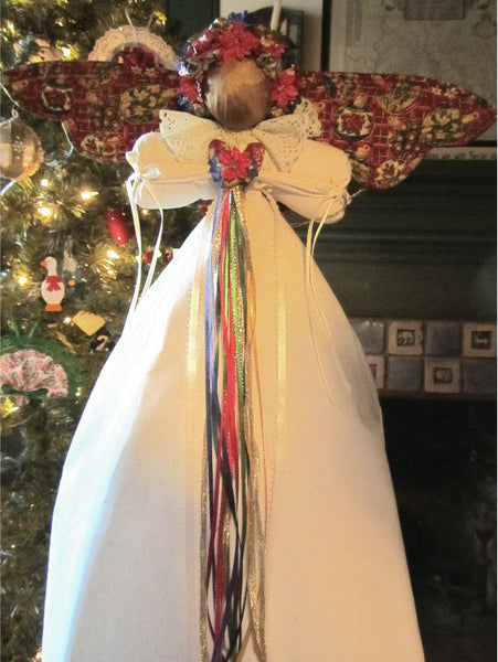 One Of A Kind-21 Inch Christmas Angel - Country Craftworks